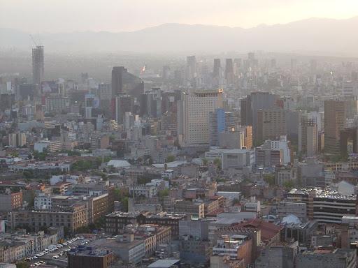 Contaminación atmosférica en México