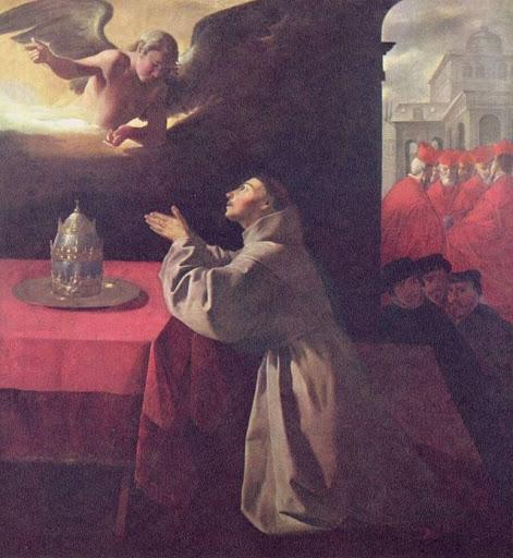 San Buenaventura, por Francisco de Zurbarán