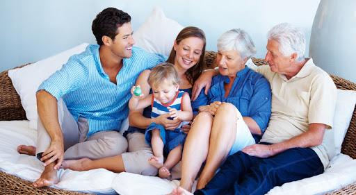 Los abuelos, una pieza muy importante en la familia