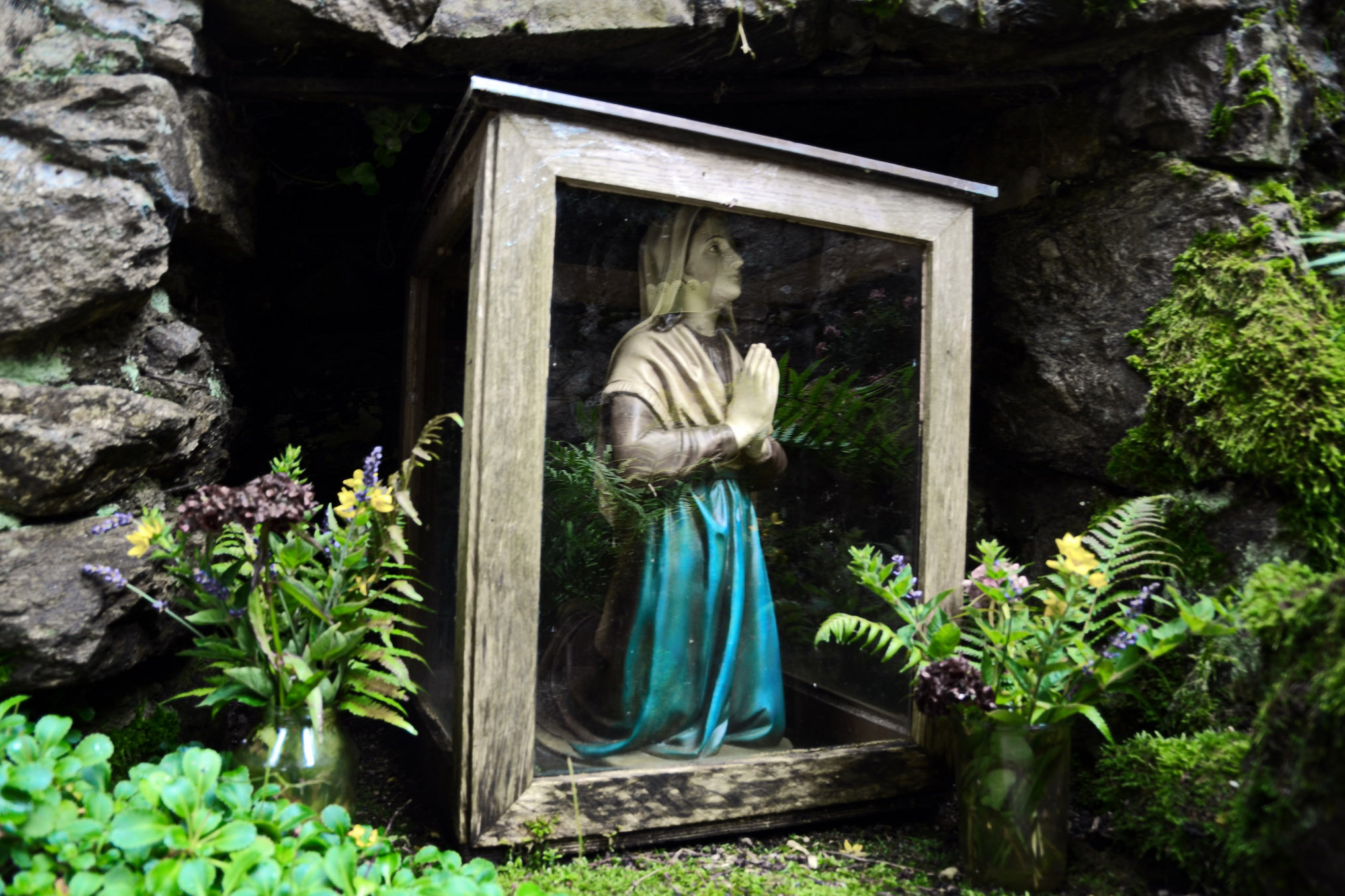 WEB-LOURDES PRAYING PRAY KNEES-Michael-CC