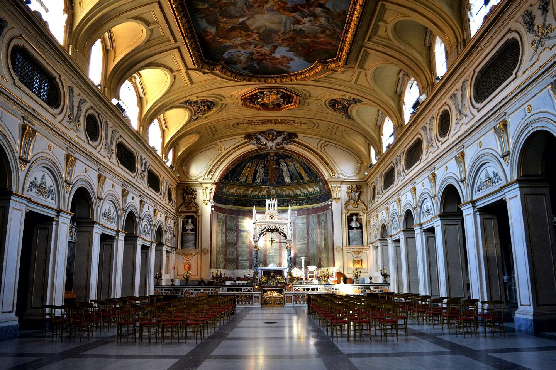 basilica santa cecilia