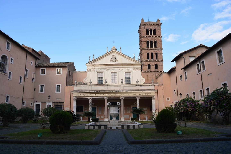 Basílica de Santa Cecilia en Trastevere