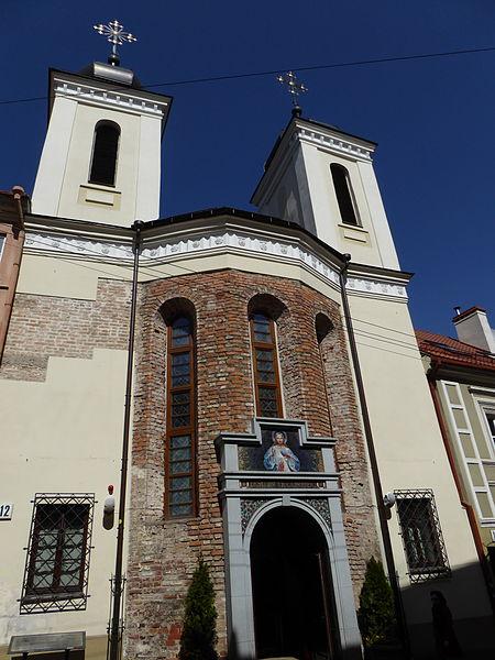 No fue sino hasta el Domingo de la Misericordia del 18 de abril de 2004, bajo el cuidado del Cardenal Audrys Juozas Bačkis, cuando la iglesia fue restaurada y consagrada, y se le dio el título de Santuario de la Divina Misericordia.