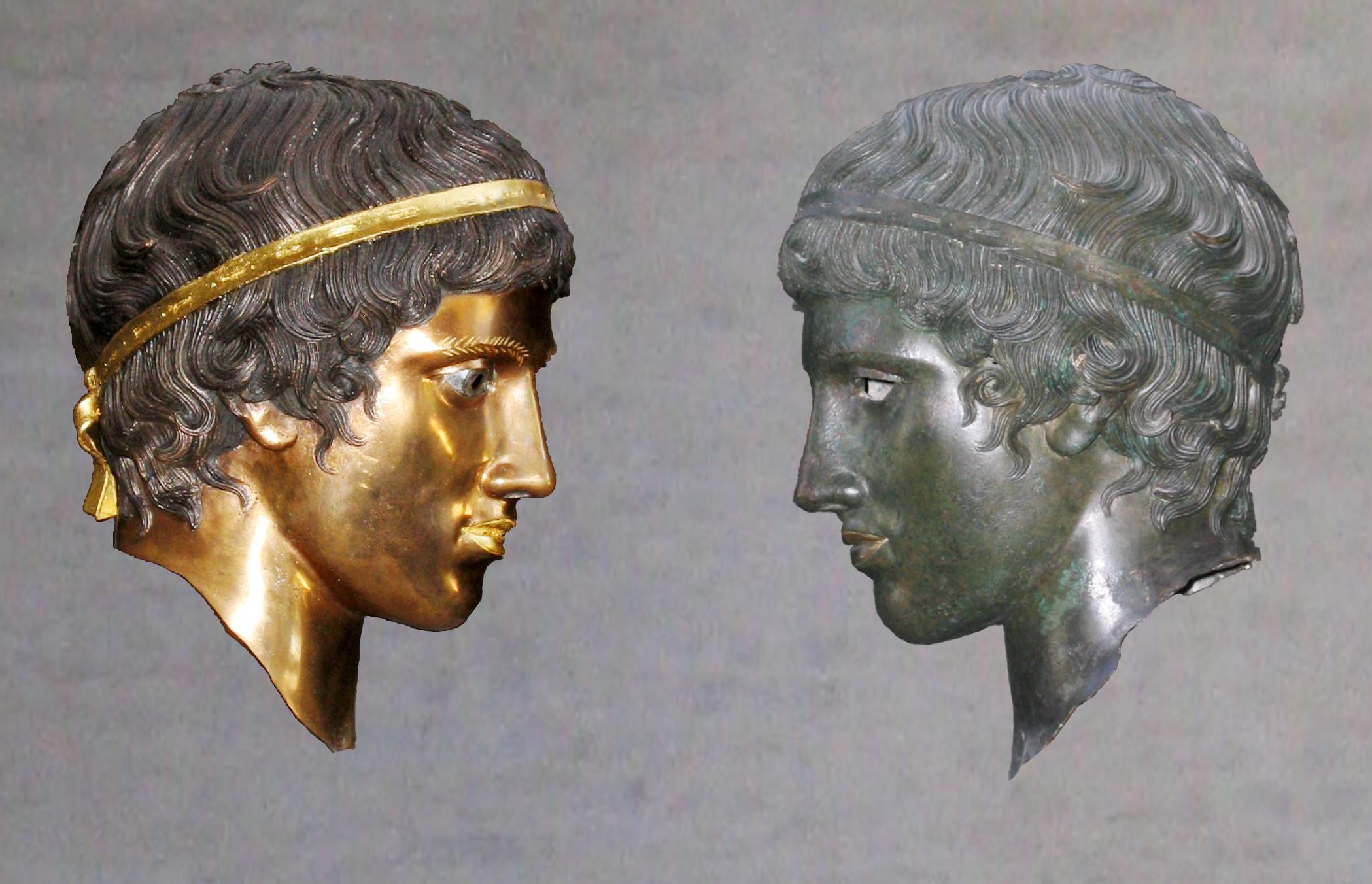El resultado fue una exposición de reproducciones de estatuas clásicas, con los colores originales que Brinkmann ha logrado reconstruir, en la Gliptoteca de Munich en 2003.