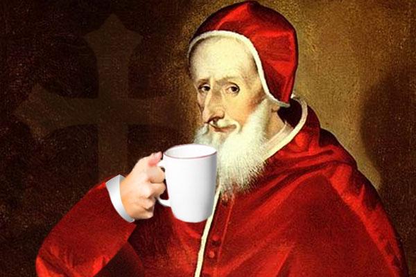 Te gusta el café? Agradécele al papa Clemente VIII