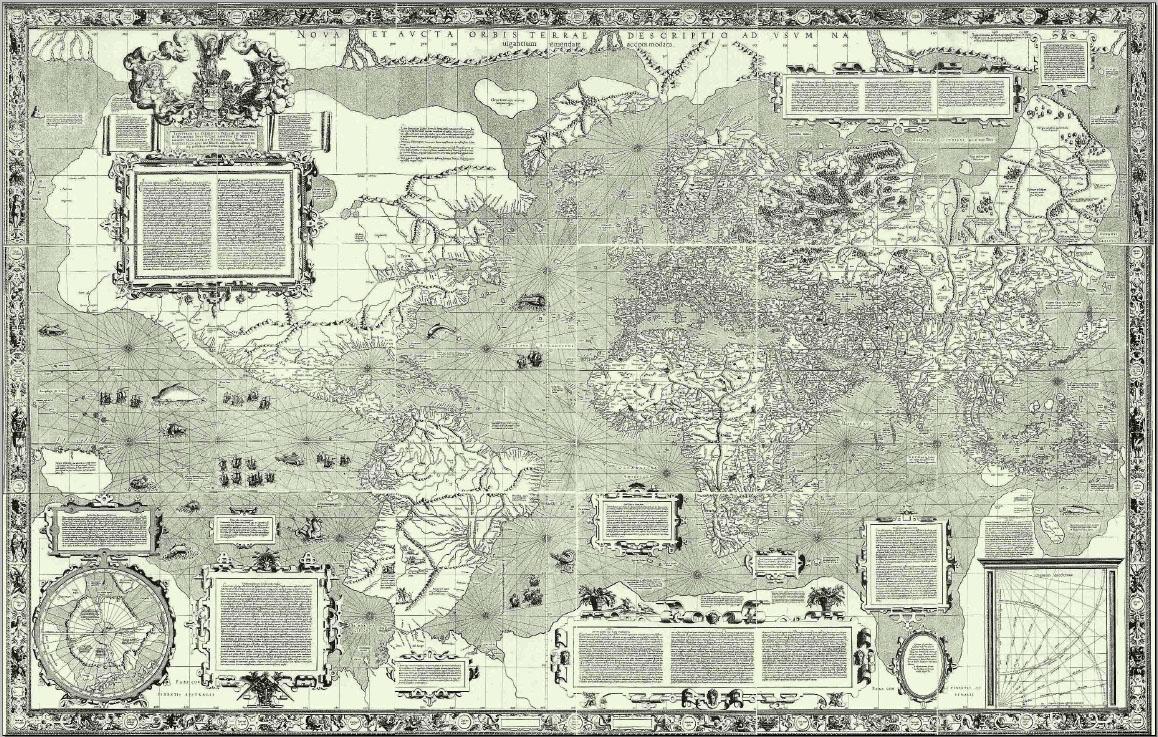 la Proyección Mercator es una proyección cartográfica cilíndrica presentada por el geógrafo y cartógrafo flamenco Gerardus Mercator en 1569.