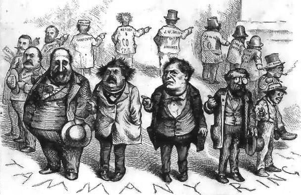 By Thomas Nast. Cropped by Beyond My KenUploaded by Beyond My Ken at en.wikipedia - Political cartoon by Thomas Nast in Harper's Weekly