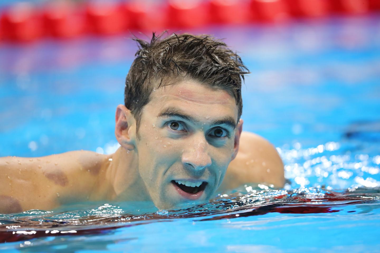 Michael Phelps . Photo: Michael Kappeler/dpa