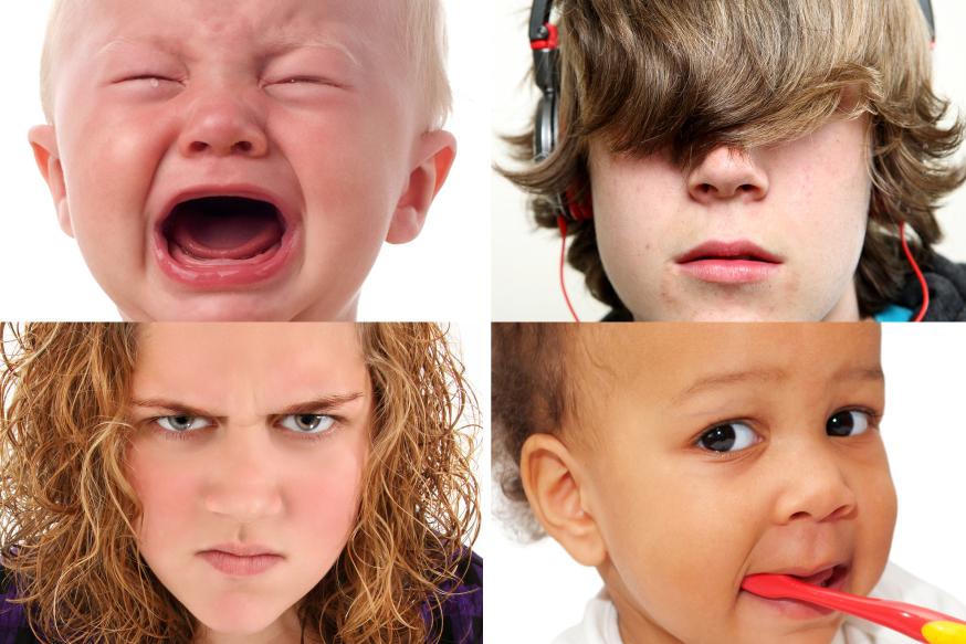 Bebés y adolescentes