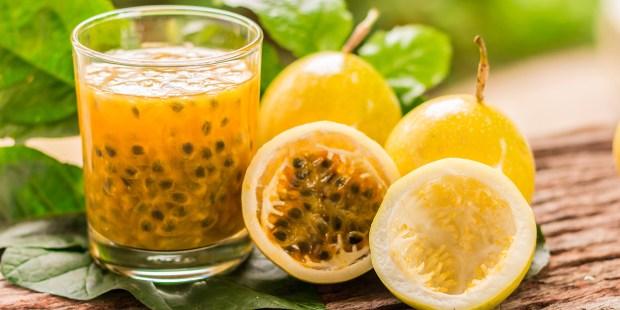 La fruta de la pasión ayuda a bajar el colesterol y a adelgazar