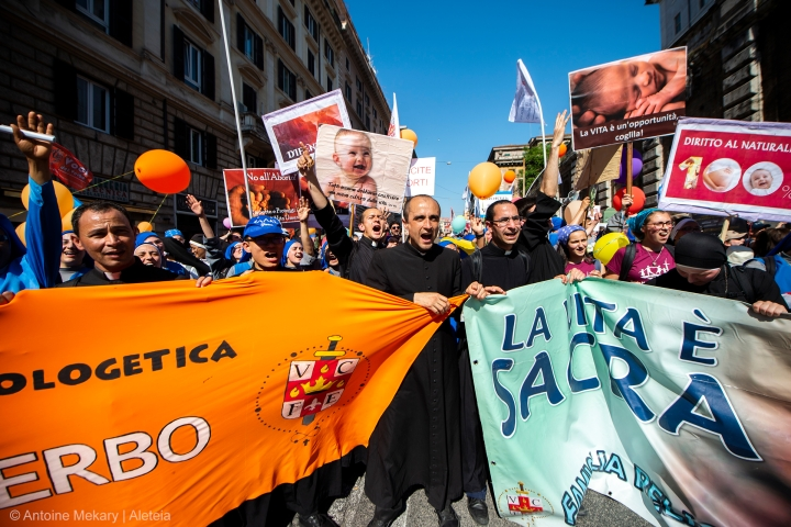 MARCH FOR LIFE,ROME,ITALY