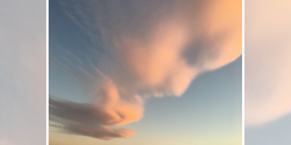 nuvem forma bebê