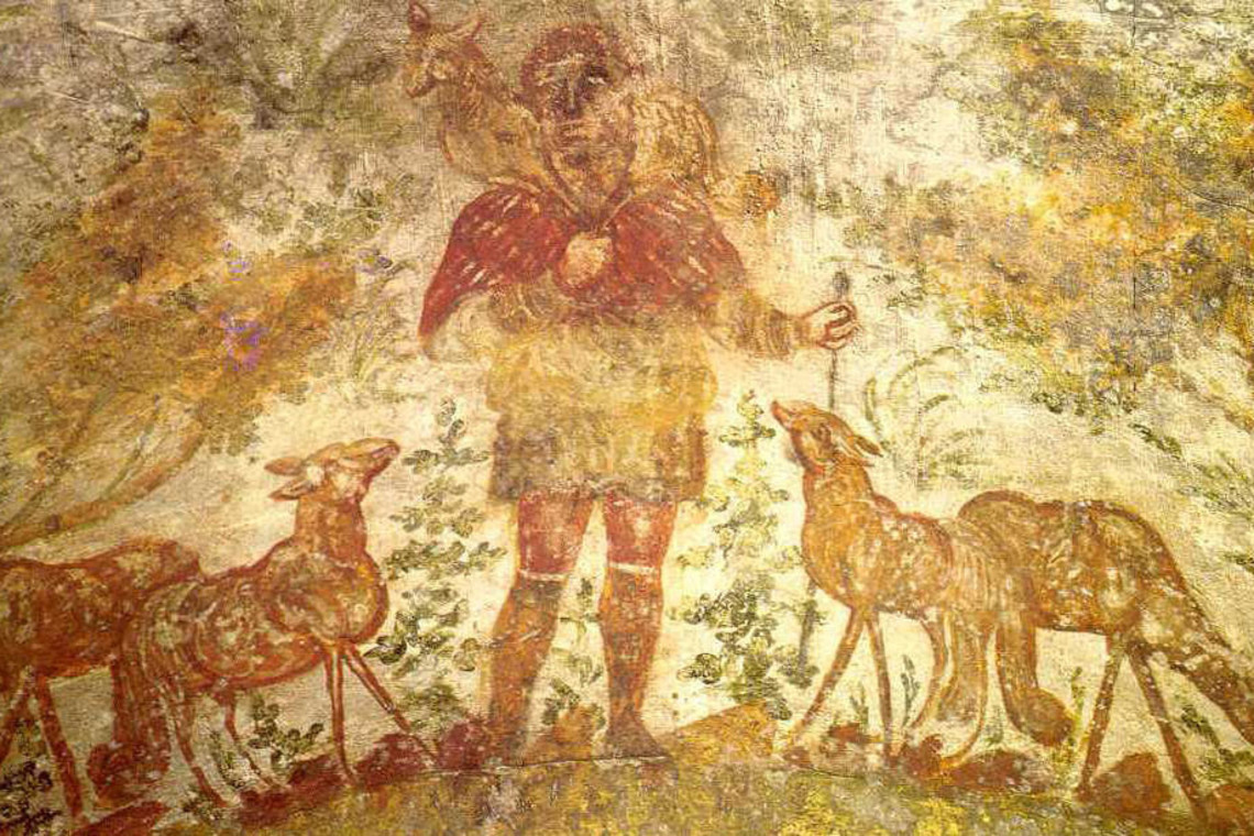 good shepherd catacombs