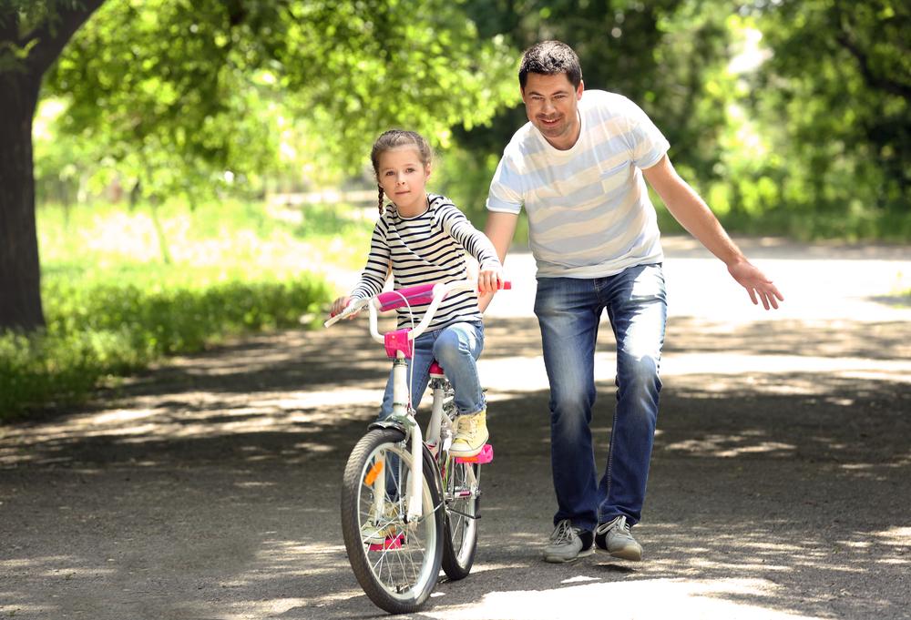 Father Daughter Bike
