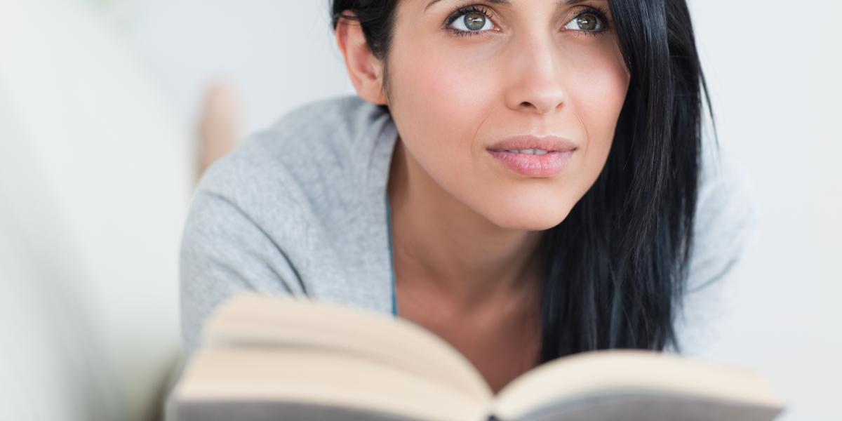 WOMAN, READING