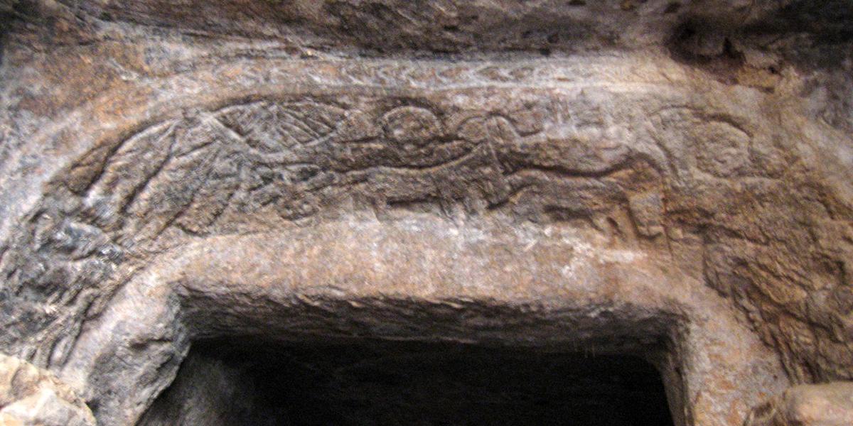 Paleochristian catacomb