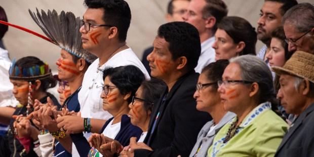 Congerencia eclesial de la Amazonía